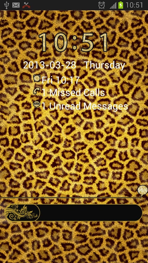 GO Locker Theme Leopard- screenshot