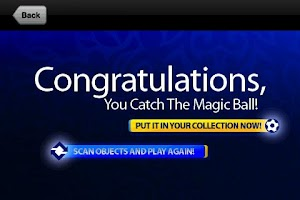 Screenshot of Catch The Magic Ball