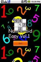 Screenshot of Numberoid Easy Vol.1