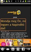 Screenshot of Juventus Rádió