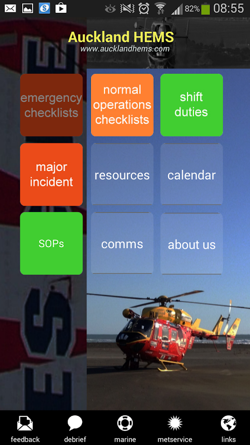AucklandHEMS- screenshot