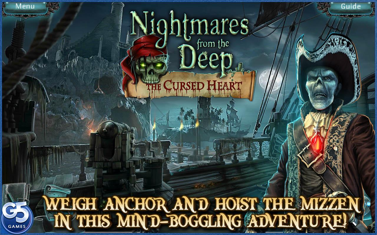 Nightmares from the Deep®: The Cursed Heart (Full)- screenshot