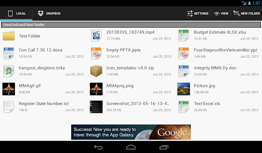 THE File Explorer - screenshot thumbnail