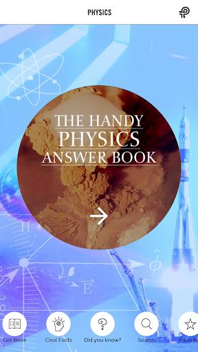 Handy Physics Answer Book