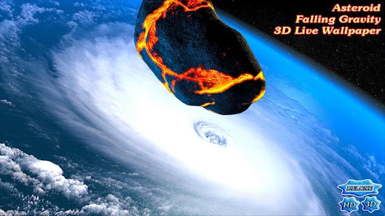Asteroid Falling Attack 3D- screenshot thumbnail