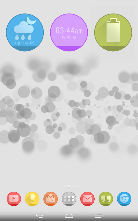 Circlons Widgets- screenshot
