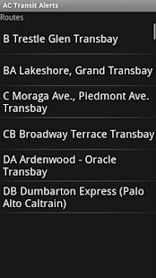 AC Transit Alerts Screenshot 2