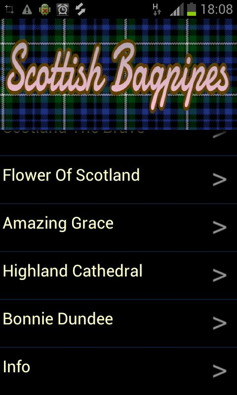 Scottish Bagpipes - screenshot