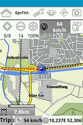 GpsTicker -Full- - screenshot