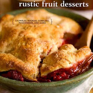 Cranberry Buckle with Vanilla Crumb.