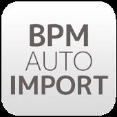 BPM auto import