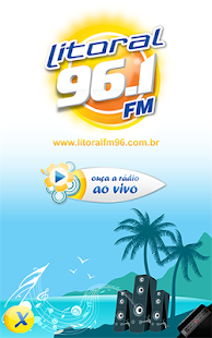 Rádio Litoral 96.1 FM- screenshot thumbnail