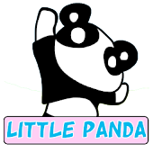 Little Panda Go Launcher Theme