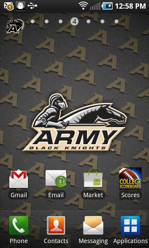 Army Black Knights Football Wallpaper >> Army Black Knights Wallpaper