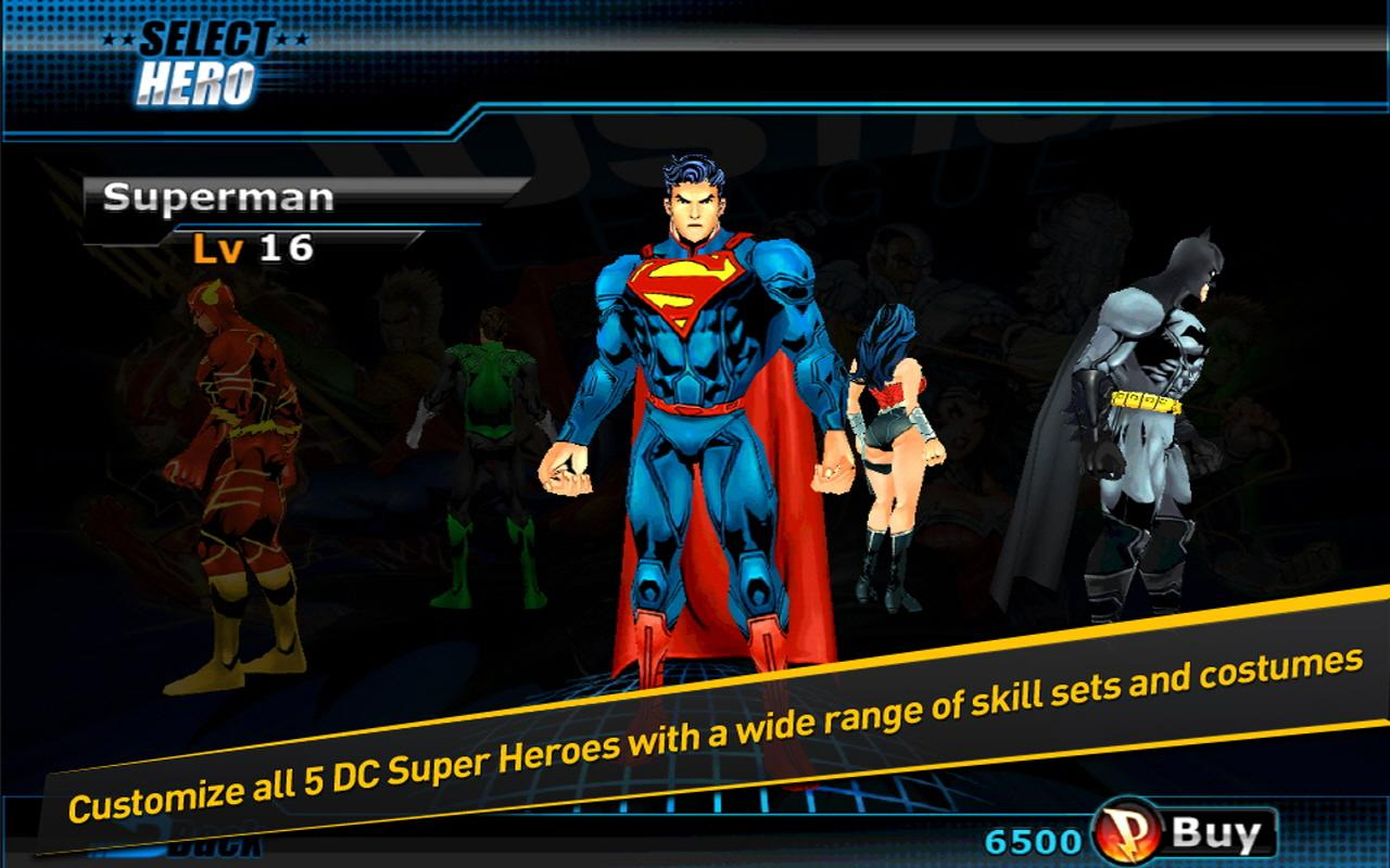 Justice League:EFD - screenshot