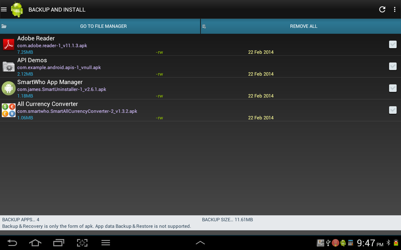 Smart Task Manager Pro- screenshot
