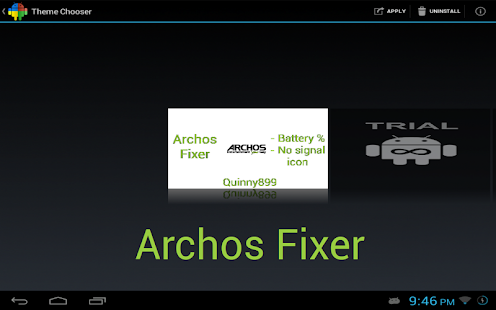 Archos Fixer CM9/10/AOKP Theme - screenshot thumbnail