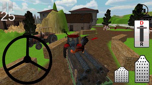 Traktör Simülatör: Odun Taşı