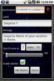GeoTask Alert System - screenshot thumbnail