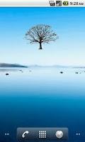 Screenshot of Oak Tree Winter Sticker