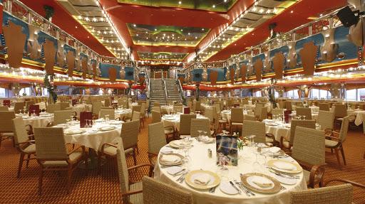 Costa-Magica-Portofino-restaurant - The Portofino restaurant, one of Costa Magica's main dining rooms.