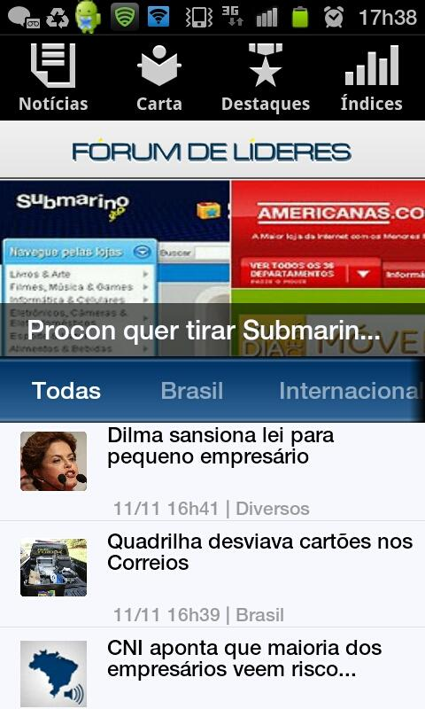 Lideres - screenshot