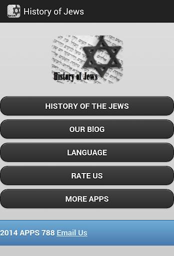 History of Jews