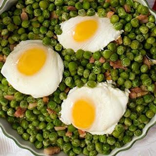 Portuguese Peas and Eggs   Ervilhas com Ovos.