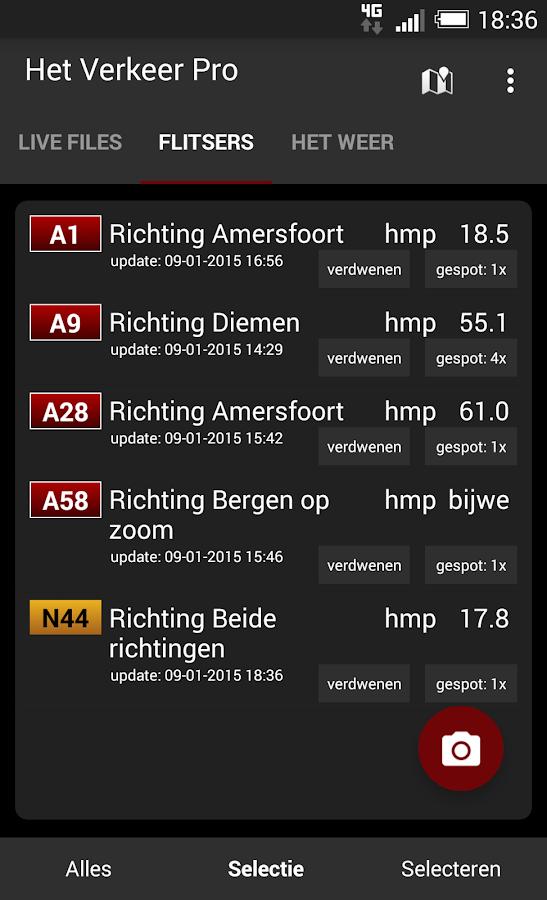 Het Verkeer Pro - screenshot
