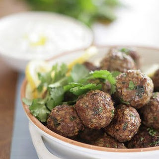 Spicy Arabic Lamb Meatballs Recipe