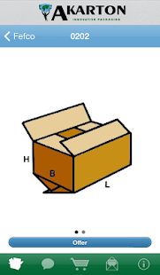 Akarton packaging guide Pro - náhled