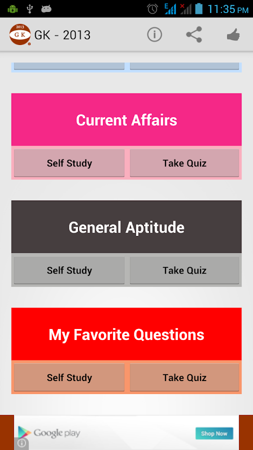 General Knowledge – iLearn - screenshot