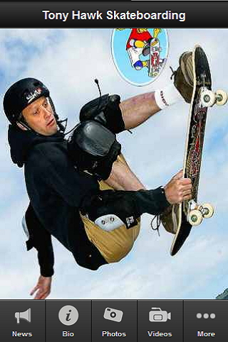 Tony Hawk Fan App