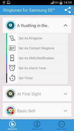 【免費音樂App】鈴聲三星S5™-APP點子