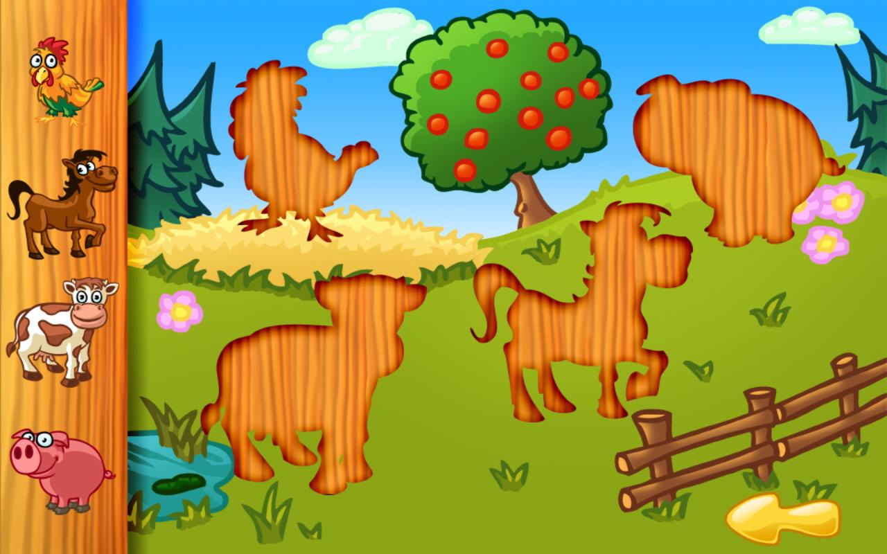 Amazing Animal Puzzle For Kids - screenshot