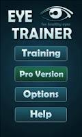 Screenshot of Eye Trainer - 12 Eye Exercises