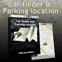 Car finder & Parking location logo