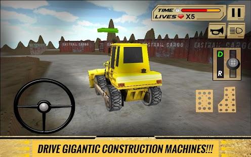 Sand-Excavator-Dump-Truck-Sim 8