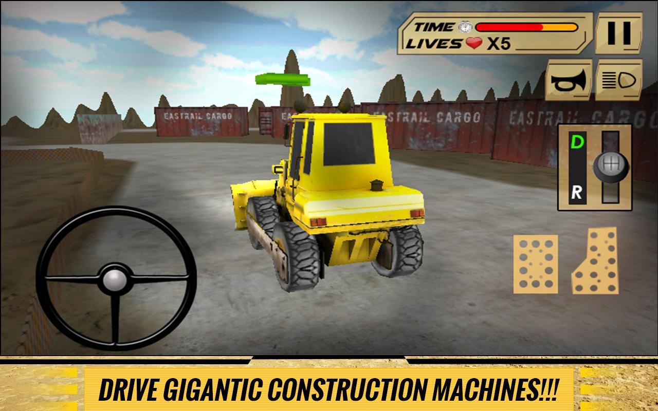 Sand-Excavator-Dump-Truck-Sim 23