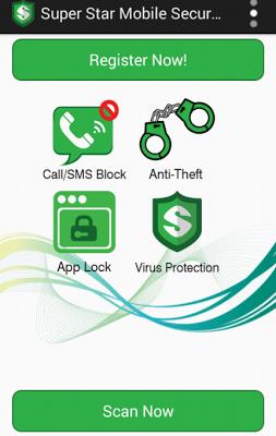 Super Star Mobile Security - screenshot