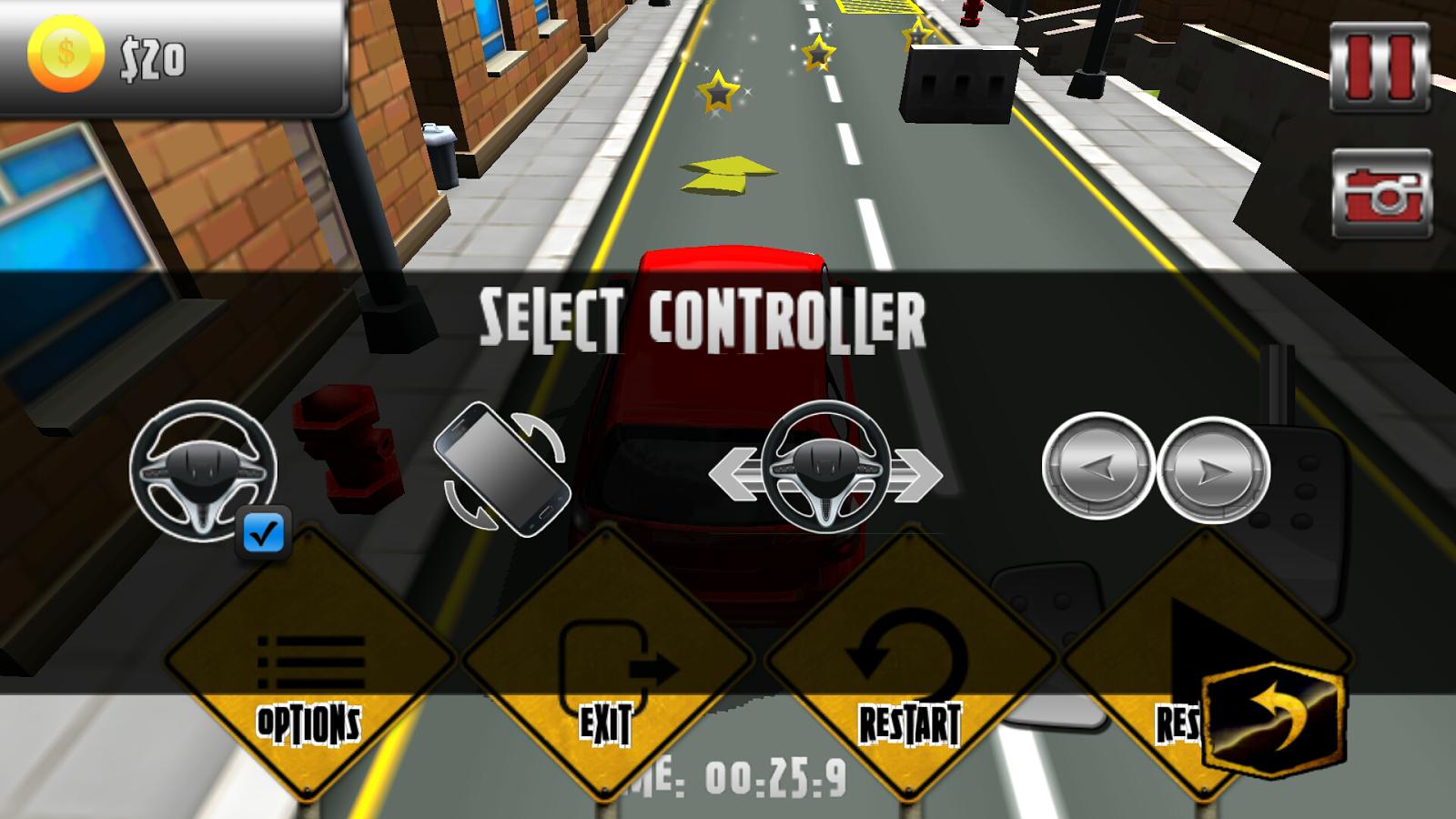 3D Car Park - screenshot