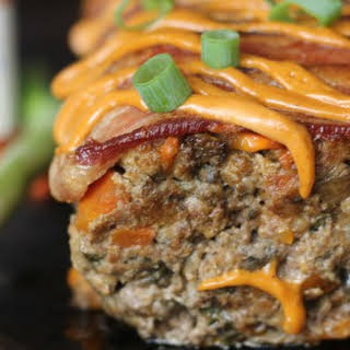 Bacon Chorizo Chipotle Smothered Meatloaf.