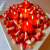 Romantic Candles Animated LWP
