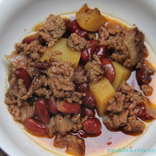Crockpot Ground Beef Stew
