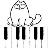 Simons Cat Piano Game