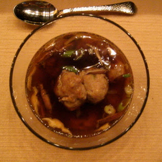 Meat-so Ball Soup.