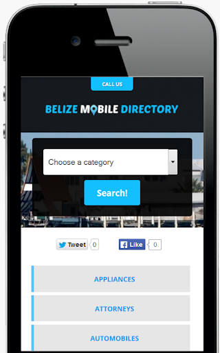 Belize Mobile Directory
