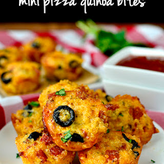 Mini Pizza Quinoa Bites.