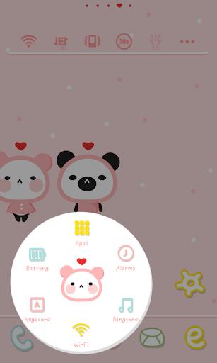 玩個人化App|パンダピンクラブドドルランチャのテーマ免費|APP試玩