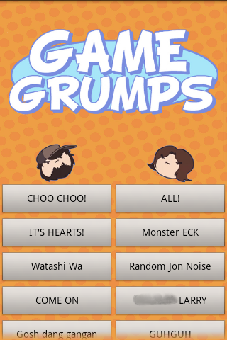 Game Grumps Soundboard